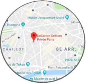 Bureau DeCarion Gestion Privée Family Office à Paris - Maps